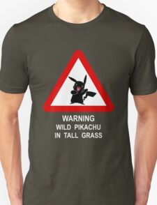 Warning Pikachu T-Shirt