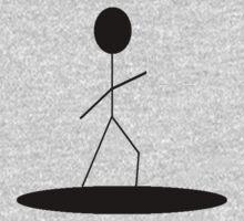 Stick Figure Surfing 2 by Matt Collier