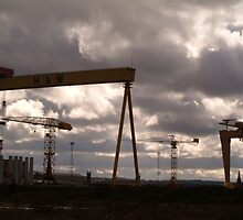 Samson And Goliath by Kirsten Andrew