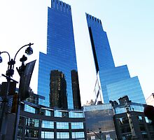 WAY UP HIGH - TIME WARNER CENTER - NEW YORK CITY by KENDALL EUTEMEY