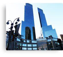 WAY UP HIGH - TIME WARNER CENTER - NEW YORK CITY Canvas Print