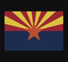 Phoenix Arizona State Flag T-Shirt Duvet Sticker by deanworld