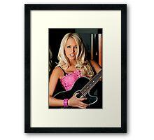Guitar Fun Framed Print
