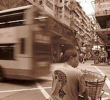 Hong Kong Traffic by Pippa Carvell