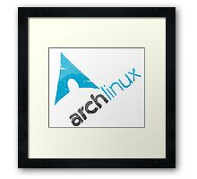 Arch Linux Logo Framed Print