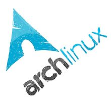 Arch Linux Logo Photographic Print