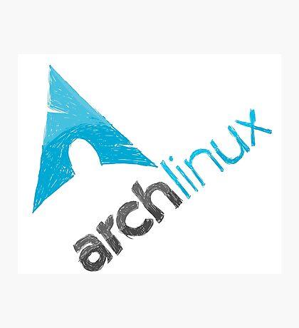Arch Linux Logo Photographic Print