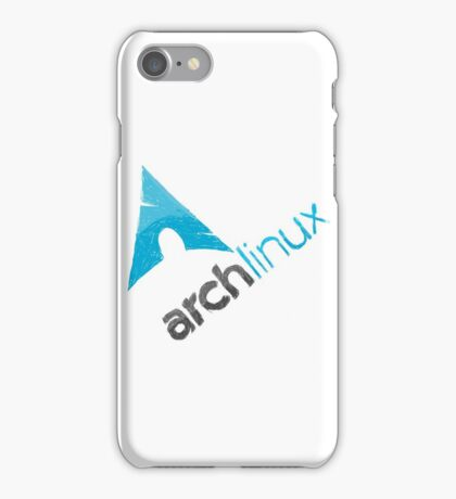 Arch Linux Logo iPhone Case/Skin