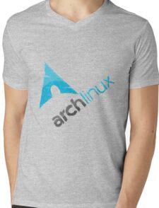 Arch Linux Logo Mens V-Neck T-Shirt