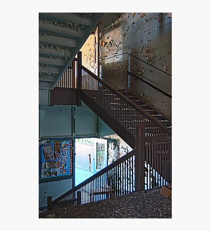 Upstairs downstairs Photographic Print