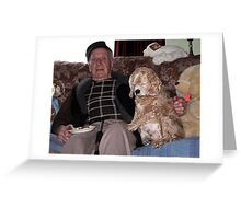 Two Old Timers Greeting Card