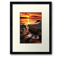 A New Day Begins Framed Print