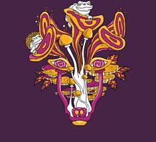 Psychedelic Mushroom Wolf Unisex T-Shirt