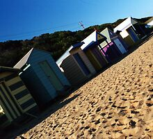 bathing box. mornington, victoria by tim buckley | bodhiimages