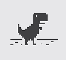 Google Chrome's Dino by Gershom Charig