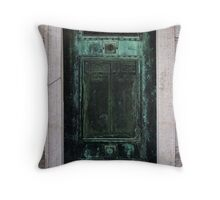Mausoleum Door Throw Pillow