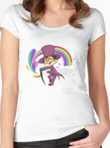Chibi Warden - Superjail ! Women's Fitted Scoop T-Shirt