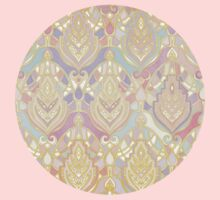 Rosy Opalescent Art Deco Pattern Kids Clothes