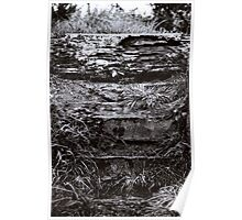 solid rock. westcoast, aotearoa Poster
