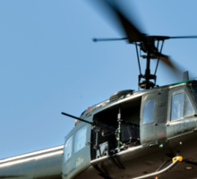 Bell UH-1 Iroquois Helicopter - (Huey) Sticker