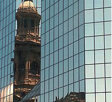Old and the new Santiago, Chile by Martyn Baker | Martyn Baker Photography