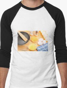 Making Omelets Men's Baseball ¾ T-Shirt
