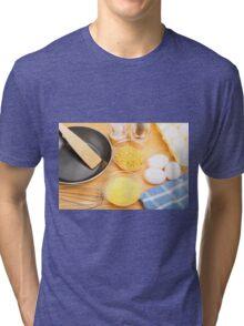 Making Omelets Tri-blend T-Shirt