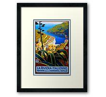 La Riviera Italienne Portofino Framed Print