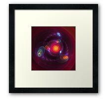 'Orbits' Framed Print