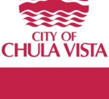 Flag of Chula Vista  Sticker