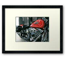 Chuck's Bike Framed Print