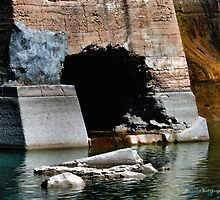 The Dam- Pecos River by Carla Jensen
