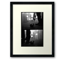apple diptych Framed Print