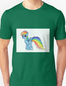My Little Pony Zentangle Rainbow Dash T-Shirt