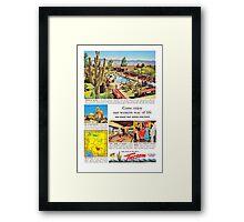 tucson in friendly arizona Framed Print