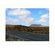 Donegal Road Art Print