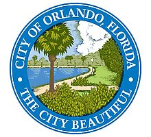 Seal of Orlando  Photographic Print