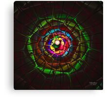 'Light Flame Abstract 330' Canvas Print
