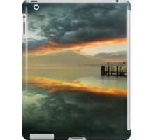 Smoke on the water and fire in the sky iPad Case/Skin