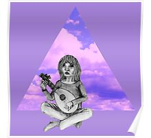 Lute Player Poster