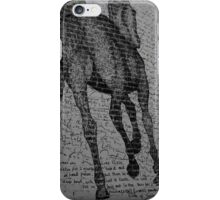 Wild horses with Lime Pickle recipe iPhone Case/Skin