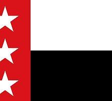 Flag of Laredo, Texas  by abbeyz71