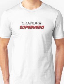Grandpa is a Superhero Grandfather Unisex T-Shirt