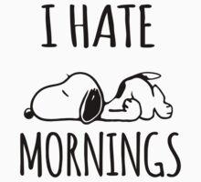 I Hate Mornings by Iva Ivanova