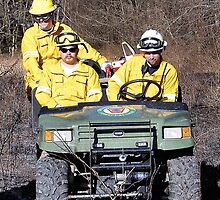 Southern York County Forest Fire Crew by mstinak