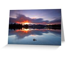 Derwentwater Fire Greeting Card