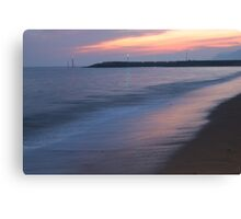 Late Evening Seascape Canvas Print
