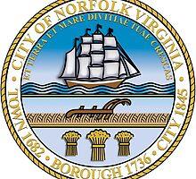 Seal of Norfolk, Virginia  by abbeyz71