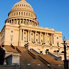 U. S. Capitol West Face  by John Schneider