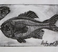 Roughy and Bass by Lou Chambers